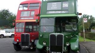 The red and green buses to run on the service