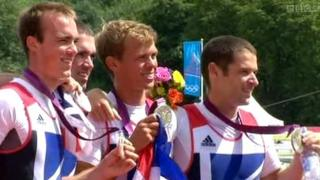 After a nailbiting finish, the GB team collected their silver medals