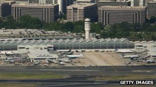 Ronald Reagan Washington National Airport 17 April 2012