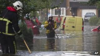 Flooding in Greater Manchester on 5 August