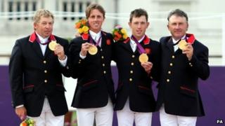 Team GB showjumpers