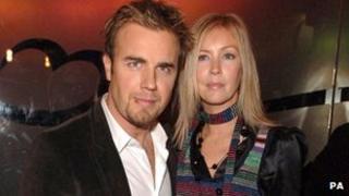 Gary Barlow and wife Dawn in 2005