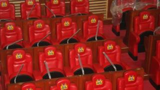 New chairs in Kenya's parliament