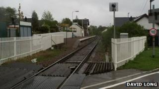 Corpach level crossing