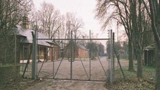 RAF Bicester gates