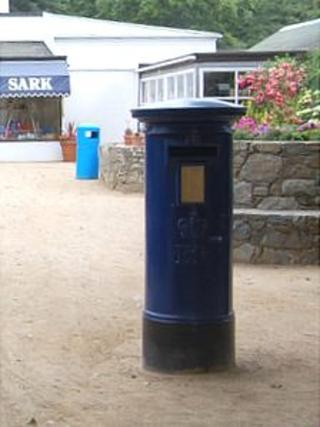 Sark post box