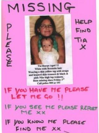 Missing poster made by Karon March