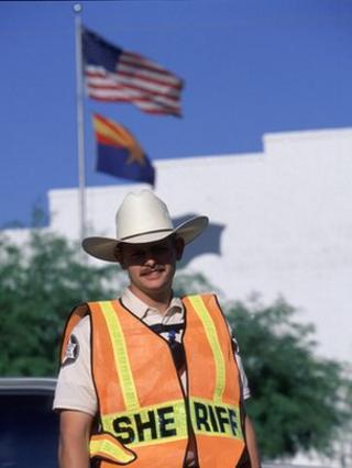 US sheriff