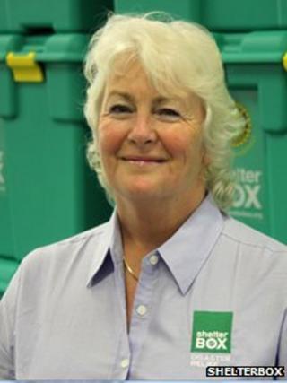 Jane Henderson, ShelterBox