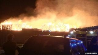 Fire in Bo'ness