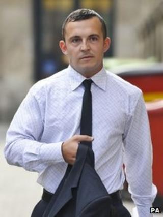David Price arriving at Bristol Crown Court on Thursday
