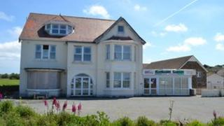 Hotel Les Carterets site in Guernsey