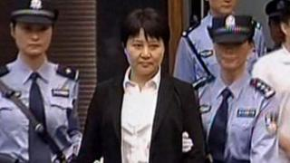 Gu Kailai in court (9 Aug 2012)