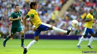 Brazilian football player Neymar