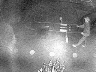 CCTV image of man at Tonypandy Primary School