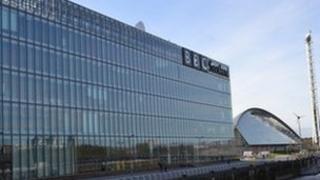 BBC Scotland at Pacific Quay in Glasgow