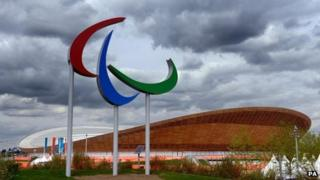 The Velodrome at the Olympic Park