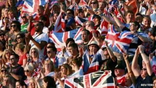 Team GB fans