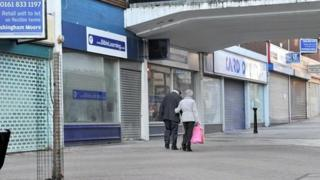 Closed shops in Altrincham, Cheshire