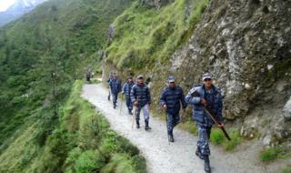 Nepali police