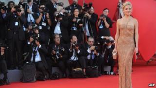 Kate Hudson at the Venice Film Festival