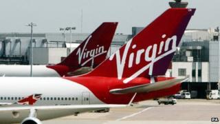 Virgin aircraft