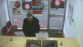 Currie was captured on CCTV
