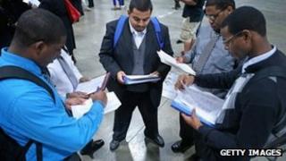 Young jobseekers in Washington