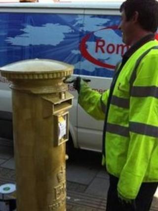 Ellie Simmonds post box