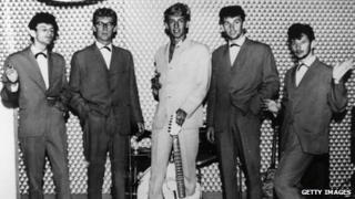 Rory Storm and the Hurricanes in 1962