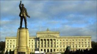 Stormont politicians have been criticised for their handling of the violence