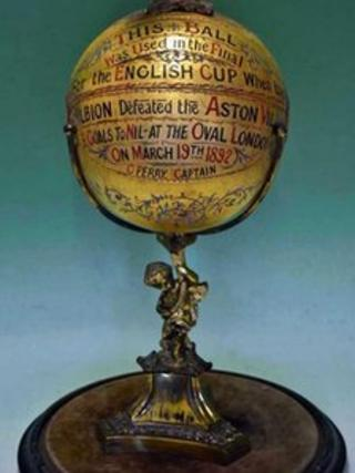 1892 FA Cup final football