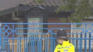 Police at Jubilee Park, Sandwell