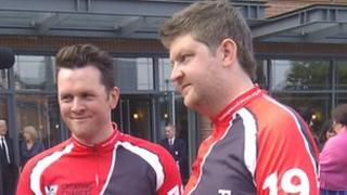Andy Smith and Alex Butler [left to right]