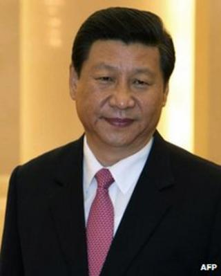A file photo taken on 17 August, 2012 of Chinese Vice President Xi Jinping at the Great Hall of the People in Beijing