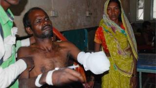 Aliyaar in hospital