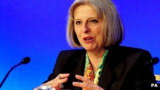 Theresa May at PSAEW conference