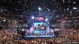 Democratic delegates in Charlotte