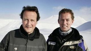 David Cameron and Greg Barker