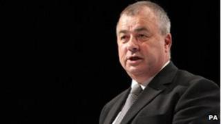 Outgoing TUC general secretary Brendan Barber