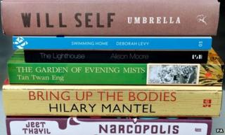 The shortlisted books for the Booker Prize