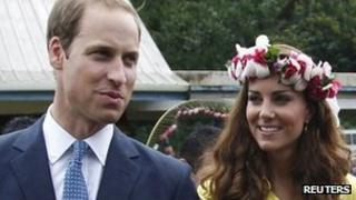 Duke and Duchess of Cambridge in the Solomon Islands