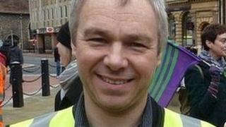 Reading Borough Councillor John Ennis
