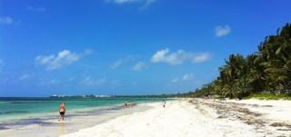 A beach in Mombasa - September 2012