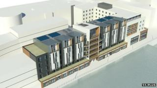 Plan for Waterside Centre