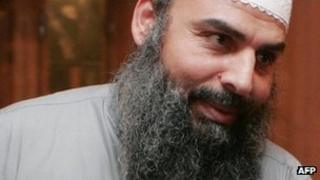 Egyptian cleric Hassan Mustafa Osama Nasr, known as Abu Omar (file image from 2007)