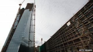 New ECB towers under construction, 20 Sep 12