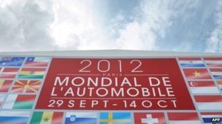 Paris motor show poster 2012