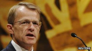 David Laws speaking at the Liberal Democrat conference