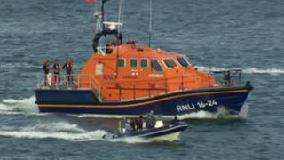 The John D Spicer Tamar class lifeboat